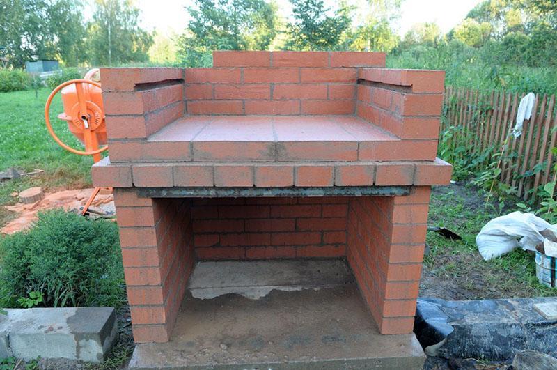 выбор места постройки мангала