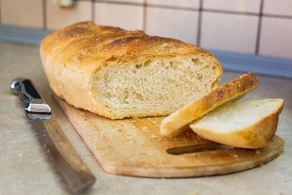 домашний пшеничный хлеб