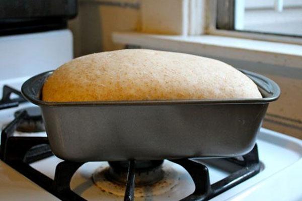хлеб пшеничный в форме