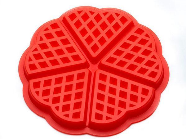 силиконовая форма для вафель
