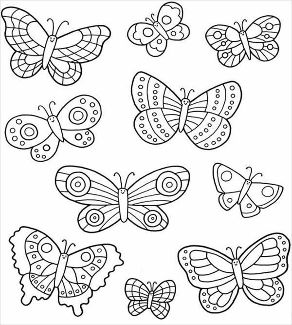 бабочки для вырезания