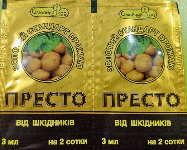 инсектицид Престо