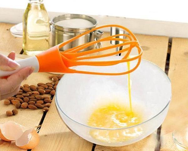 использование венчика на кухне