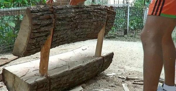 соединяем спинку и сиденье