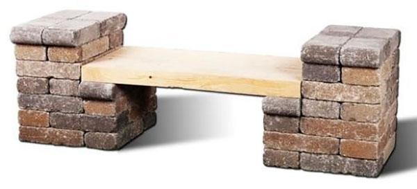 skameyka-svoimi-rukami-28 Садовая скамейка со спинкой своими руками: чертежи изделий
