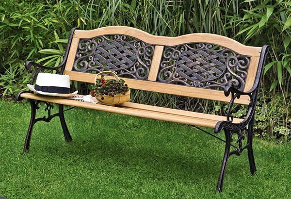 skameyka-svoimi-rukami-39 Садовая скамейка со спинкой своими руками: чертежи изделий
