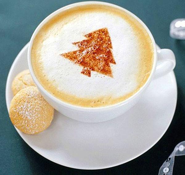 украшение чашки кофе
