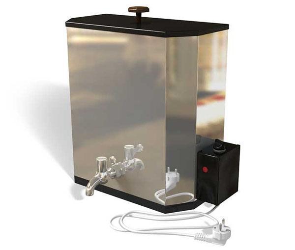 электрический наливной водонагреватель