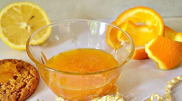 джем из апельсиновой кожуры