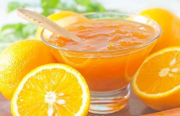 нежный джем из апельсинов