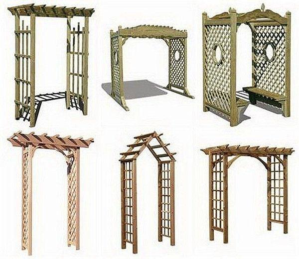 конструкции деревянных арок