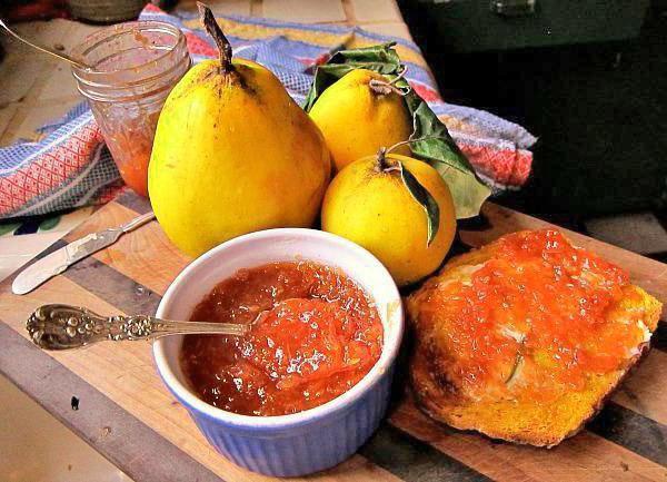 ароматный витаминный джем из айвы