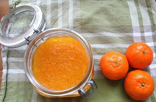 вкусный ароматный джем из мандаринов