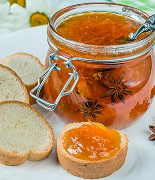 мандариновый джем с имбирем
