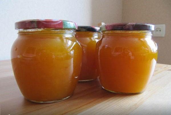Джем из тыквы, лимона и апельсина