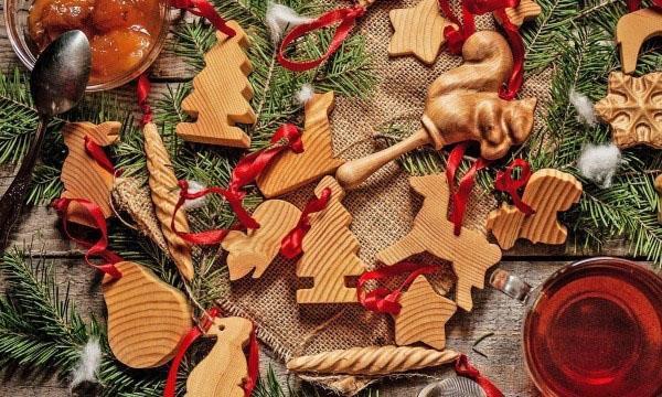 деревянные фигурки для елки