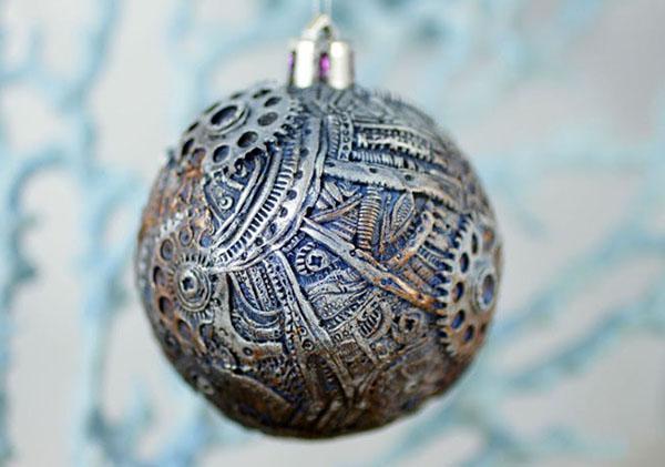 шар из полимерной глины