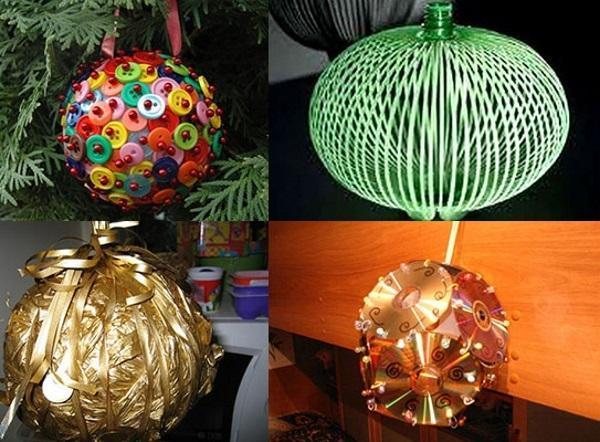 декоративные шары и фонарик
