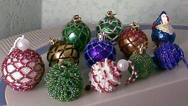 удивительные бисерные шары