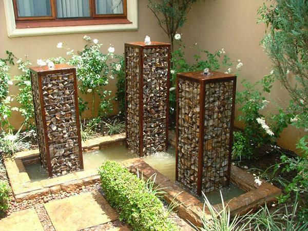 габионы фонтаны долговечные конструкции