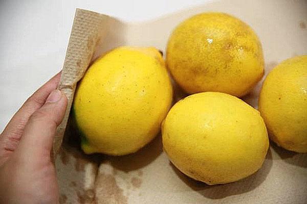 лимоны для джема