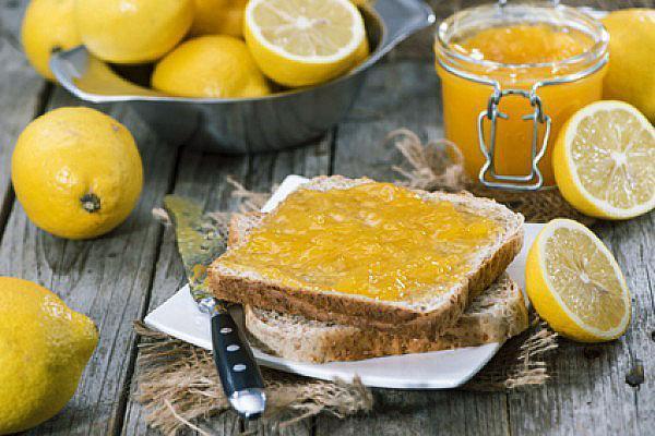 полезный солнечный джем из лимона