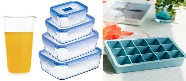Заморозить можно в стаканчиках, лотках и специальных емкостях