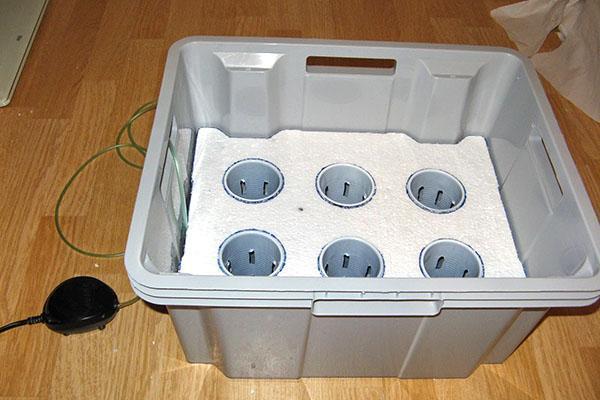 самодельная установка для выращивания овощей
