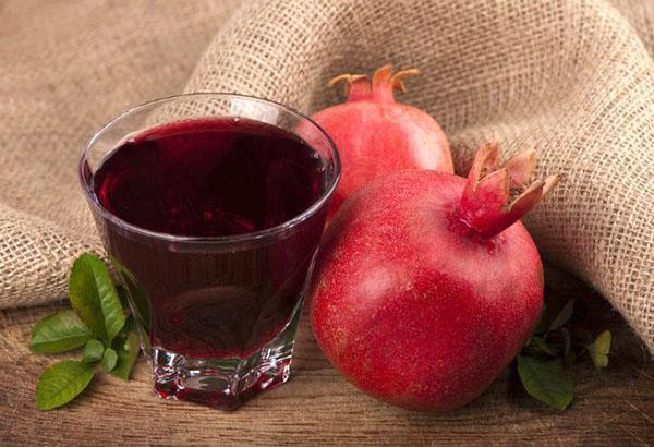 плоды граната и его сок