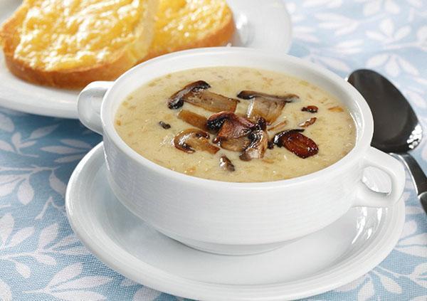 грибной суп из замороженных грибов рецепты