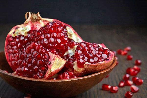 сочный плод граната