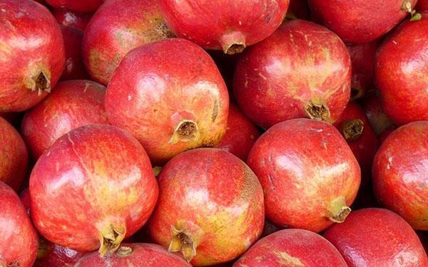 крупные плоды граната