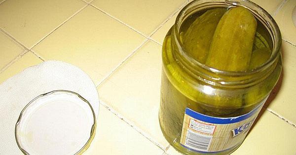 огуречный рассол для приготовления горчицы