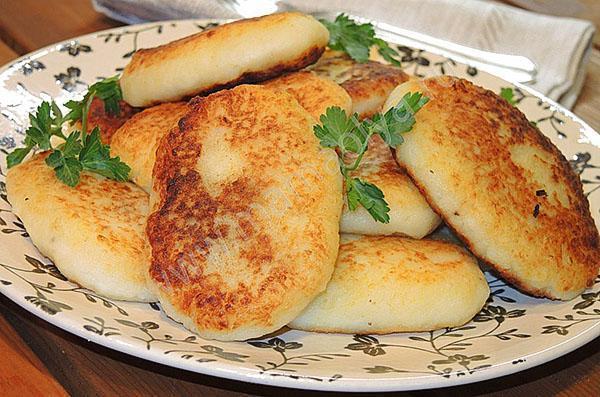 картофельные зразы с грибами и мясом