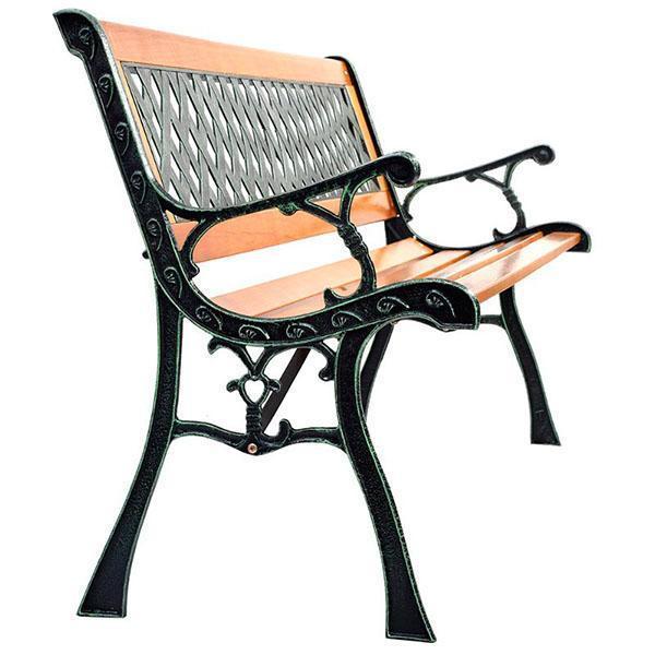красивая и удобная скамейка