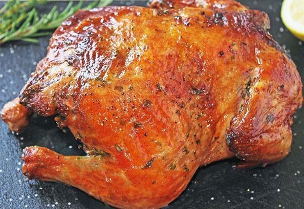 курица в медово-горчичном соусе с добавлением соевого соуса