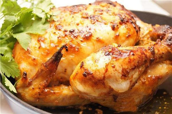 курица в соусе из горчицы и меда