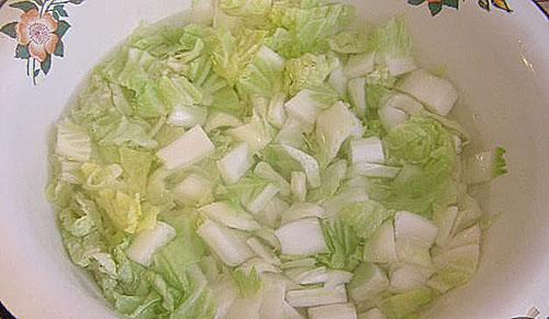 пропарить капусту