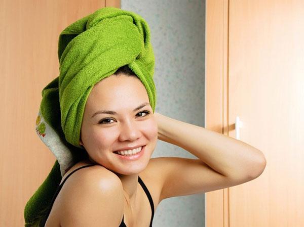 теплое полотенце