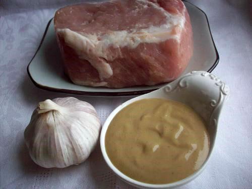 ингредиенты для приготовления мяса