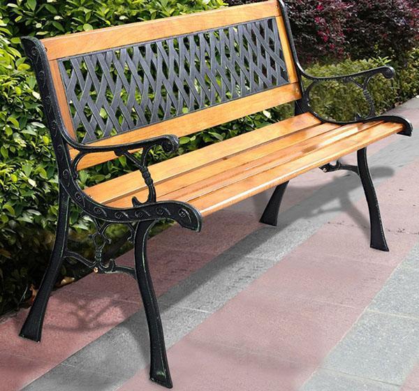 садовая скамейка из Китая