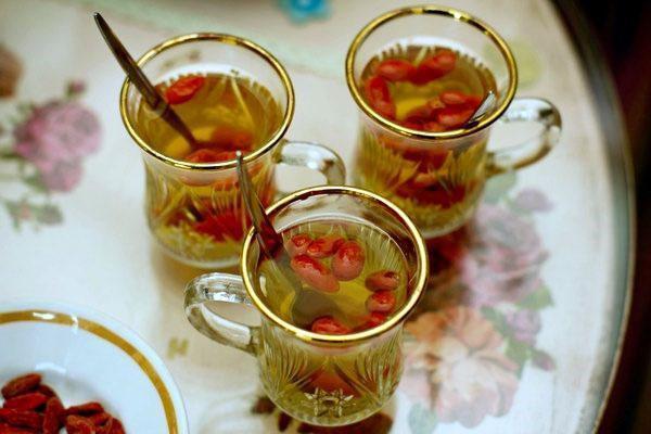 чай с годжи