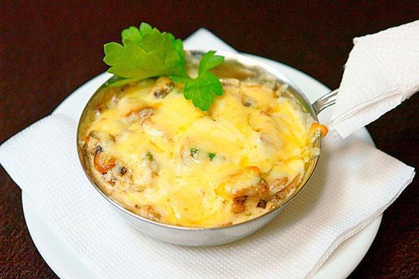 жульен с грибами по классическому рецепту