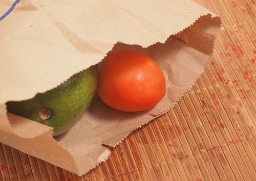 авокадо в пакете