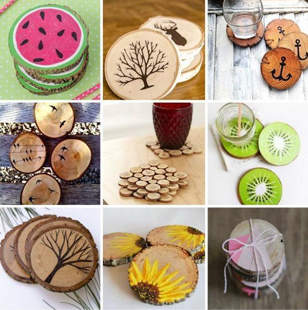 кухонные подставки из дерева