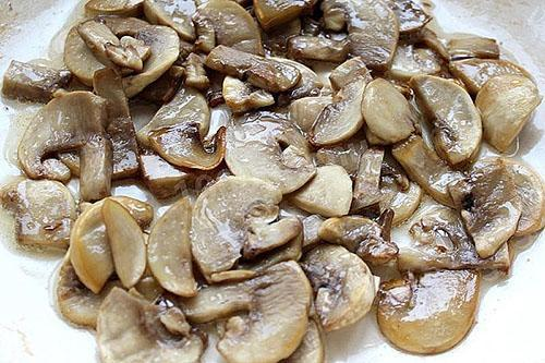 прожарить грибы