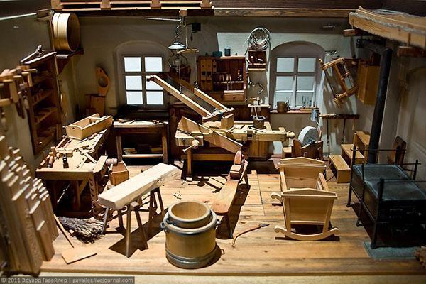 домашняя мастерская по дереву