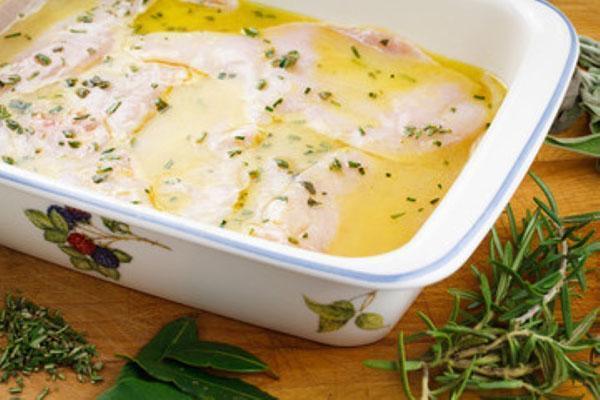 маринуем мясо в лимонном соусе