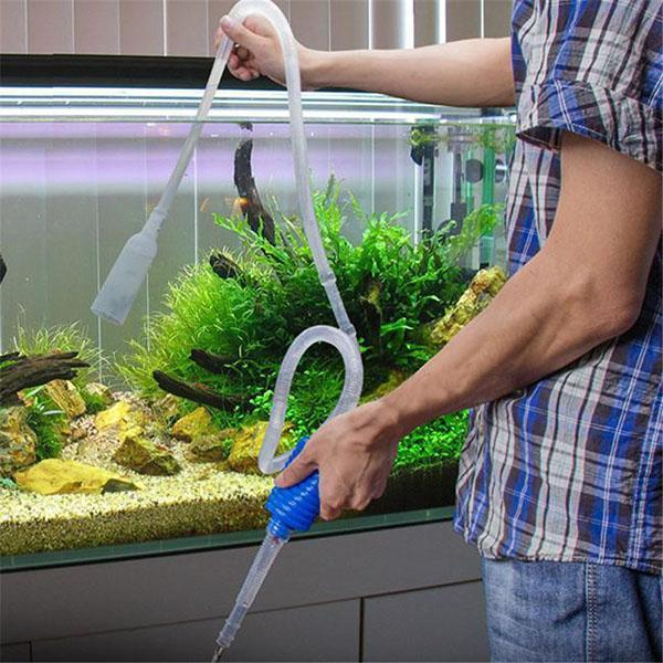 вода из аквариума