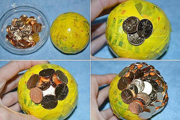 этапы изготовления денежного дерева
